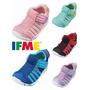 ☆麻吉鞋坊☆ 2019 IFME Water Shoes排水涼鞋 水涼鞋(粉/紫/黑/藍)(12.5-15)