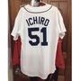 MLB ICHIRO 鈴木一朗 西雅圖水手隊 棒球衣 Majestic