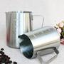 ✿台灣現貨✿ 304不銹鋼拉花杯 600ml 350ml 99元 加厚1mm 食品級不銹鋼  咖啡 牛奶 拉花