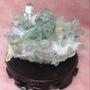 綠幽晶簇擺件 消磁淨化擺件 綠晶簇