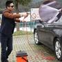 洗車神器高壓家用便攜式充電式12v洗車水泵車載洗車器無線洗車機 英雄聯盟
