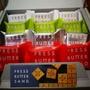 《阿肥小舖》1/29出貨 press butter sand 福岡甘王草莓 澀谷可可 京都宇治抹茶 原味焦糖奶油夾心餅