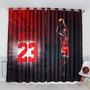 【咨詢問價請聊聊聯繫店長】定制喬丹Jordan科比運動籃球男孩足球臥室工作室兒童主題房窗簾布
