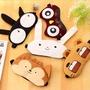 睡眠眼罩-可愛小動物冰敷/熱敷兩用純棉睡眠眼罩【AN SHOP】