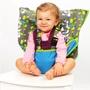 My Little Seat 攜帶型嬰兒安全椅套-藍色小魚
