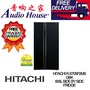 HITACHI R-S705P2MS-GBK SIDE BY SIDE FRIDGE ***1 YEAR HITACHI WARRANTY***
