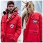 (預購)實拍🔥優惠🔥紅色-Canada Goose加拿大鵝Expedition男女情侶款羽絨外套 1129