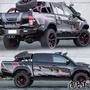 驚爆款豐田Hilux海拉克斯車貼拉花 皮卡車身裝飾改裝汽車貼紙改裝 坦途