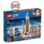 【LEGO 樂高】城市系列 重型火箭及發射控制 60228 積木 太空(60228)