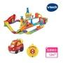【Vtech】嘟嘟車系列-超級遙控賽車軌道組(快樂兒童首選玩具)