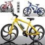 現貨當天發 鋁合金仿真公路賽車1:10可活動式轉動 迷你單車模型 自行車模型 腳踏車模型 拍照場景 登山車模型