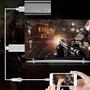HDMI高清線 iPhone安卓同屏線 手機平板轉大屏轉接線
