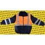 AR-工作室 反光外套 雙色 工程夾克交管夾克工地外套交通指揮防寒外套鋪反光背心可拆式棉外套反光外套反光夾克