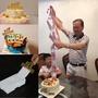 抖音同款抽錢蛋糕盒子網紅同款拉錢神器吐錢蛋糕吐錢出錢蛋糕裝飾