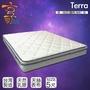 【享樂生活】特拉天絲乳膠蜂巢式獨立筒床墊(雙人5X6.2尺)