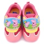 【童鞋城堡】粉紅豬小妹 中童 佩佩喬治 透氣輕量運動鞋(PG8560-粉)