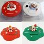 【限量版】Medis2019新款 創意星巴克卡通聖誕小熊矽膠杯蓋 防塵耐高溫多功能 裝飾水杯蓋子 禮物交換