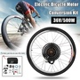 500W 36V Rear Wheel Electric Bicycle Motor Conversion Hub Ebike Cycling 300rmp
