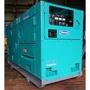 DENYO發電機.60ES柴油靜音發電機.日本原裝電友.三相220V..二手防音發電機.中古發電機..少用.買到賺到
