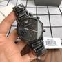 現貨Armani阿曼尼手錶AR11045 ar迷彩鋼帶石英男士腕錶 阿瑪尼黑三眼計時多功能大錶盤商務男錶