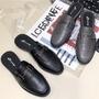 穆勒鞋👏現貨熱銷歐美復古方頭金屬扣半拖鞋 一字金屬 前包後空 張飛鞋 方頭拖 後踩 穆樂鞋 粗跟 厚底鞋