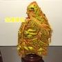 金龍佛具 粒麟金龍 橘龍袍 天上聖母 媽祖 王爺 廣澤尊王 一尺三 神明衣 上衣 橘龍袍 1尺3