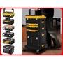 DEWALT得偉 變形金剛工具箱共6款附底層推車(TSTAK-1~TSTAK-6)