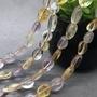天然紫黃晶隨形散珠半成品批發 DIY手鍊項鍊飾品不定形扁珠速賣通