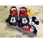迪士尼 Disney Mickey Mouse 米奇米妮 勃肯涼鞋 護趾涼鞋 魔鬼氈 MIT