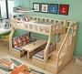 綠巨人家具網*全實木1.5米兒童床松木1.6米上下铺床高低床雙層床子母床成人带書桌组合床