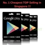 GooglePlay Gift Card $10 $25 $50 USD