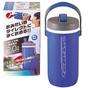 日本製 保冷專用大容量水壺 2公升(寶藍) 斷熱構造 一觸即開超方便*夏日微風*