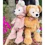 (達菲現貨)上海迪士尼代購🕌達菲熊/雪莉玫70cm M號達菲玩偶/達菲熊娃娃/傑拉多尼娃