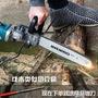 電鋸 電鋸家用伐木鋸電動電鏈鋸小型多功能木工迷你角磨切割機改裝手提 MKS生活主義