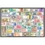 世界各國鈔票拼圖1000片