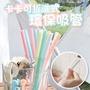 [當天出貨] 夢幻馬卡龍色 卡卡 可拆洗 環保吸管 小麥桿收納盒 台灣製(SGS合格)
