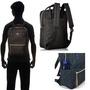 anello 黑色 方正 日本帶回正版 帆布水洗 後背包 手提包 寬25×高36×厚13.5cm