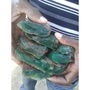 翡翠藍寶 含鉻綠玉髓 原礦
