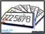 《晟鑫》全新 車牌保護框 新式7碼 汽車專用大牌 牌照框 黑色 2入裝 牌照支架框 七碼車牌框