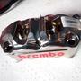 Brembo 一體鍍鎳無插銷 輻射卡鉗 鈦活塞