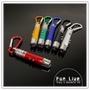 【aife life】3合1快扣手電筒/紅光雷射筆/LED手電筒/驗鈔燈/登山扣/手電筒鑰匙圈/三合一手電筒