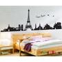 【橘果設計】巴黎鐵塔 壁貼 牆貼 壁紙 DIY組合裝飾佈置