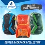 Deuter Futura BackPack Smart Genius School Bag Gobi 55-45-35+10 Papaya-Graphitebay-Midnight