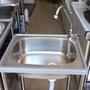 陽台洗手槽、洗衣槽、不銹鋼水槽(附冷水龍頭)