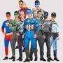 SKr風尚🍁現貨cosply服飾 成人復仇者聯盟 蜘蛛人 美國隊長超人鋼鐵人 擎天柱cosplay肌肉服裝