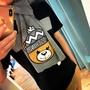 Moschino 熊熊圍巾