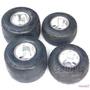 場地漂移卡丁車輪胎輪轂改裝配件11*7.10-5/10*4.50-5寸真空輪胎