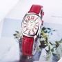 卡西歐手錶女Casio網紅同款小紅錶皮帶石英小方錶LTP-1208E-9B2