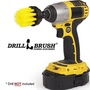 Long Yellow Bristle 2 Inch Diameter Medium Stiffness Drill Powered Cleaning Brush Attachment for Cordless Drills and Impact Drivers - Used to Clean Tile, Grout, Shower, and Bathtub by Drillbrush[From USA] - intl