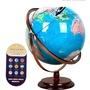 特品特價MPR智能語音點讀地球儀會說話的學生地球儀32cm高清大號擺件兒童